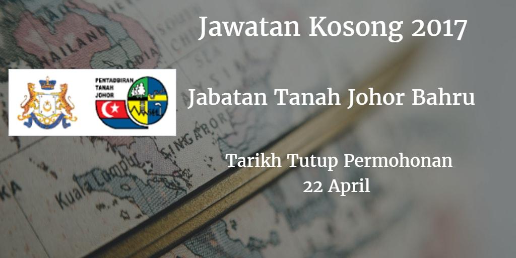 Jawatan Kosong Jabatan Tanah Johor Bahru 22 April 2017