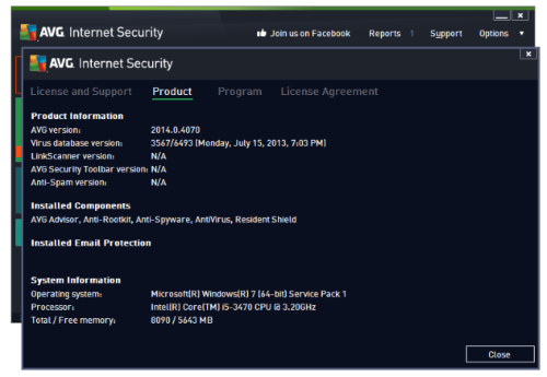 avg internet security 2012 full keygen serial until 2018