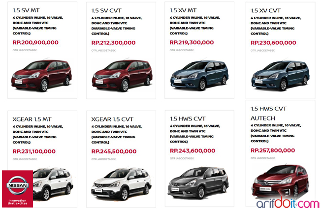 Nissan Grand LIvina adalah MPV terbaik