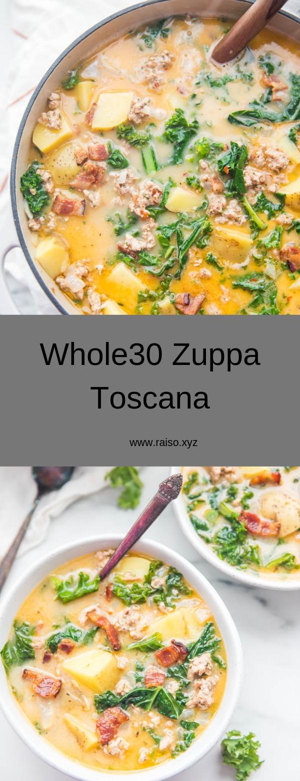 Whole30 Zuppa Toscana #soup #healthy #whole30