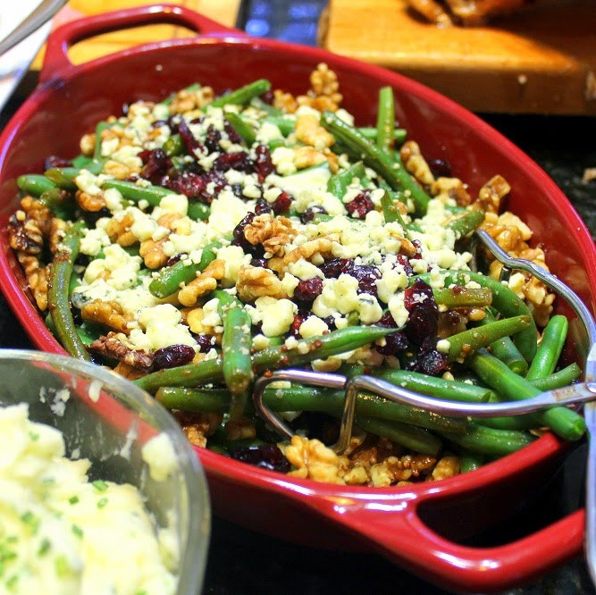 52 Ways To Cook: Green Beans With Craisins, Walnuts And