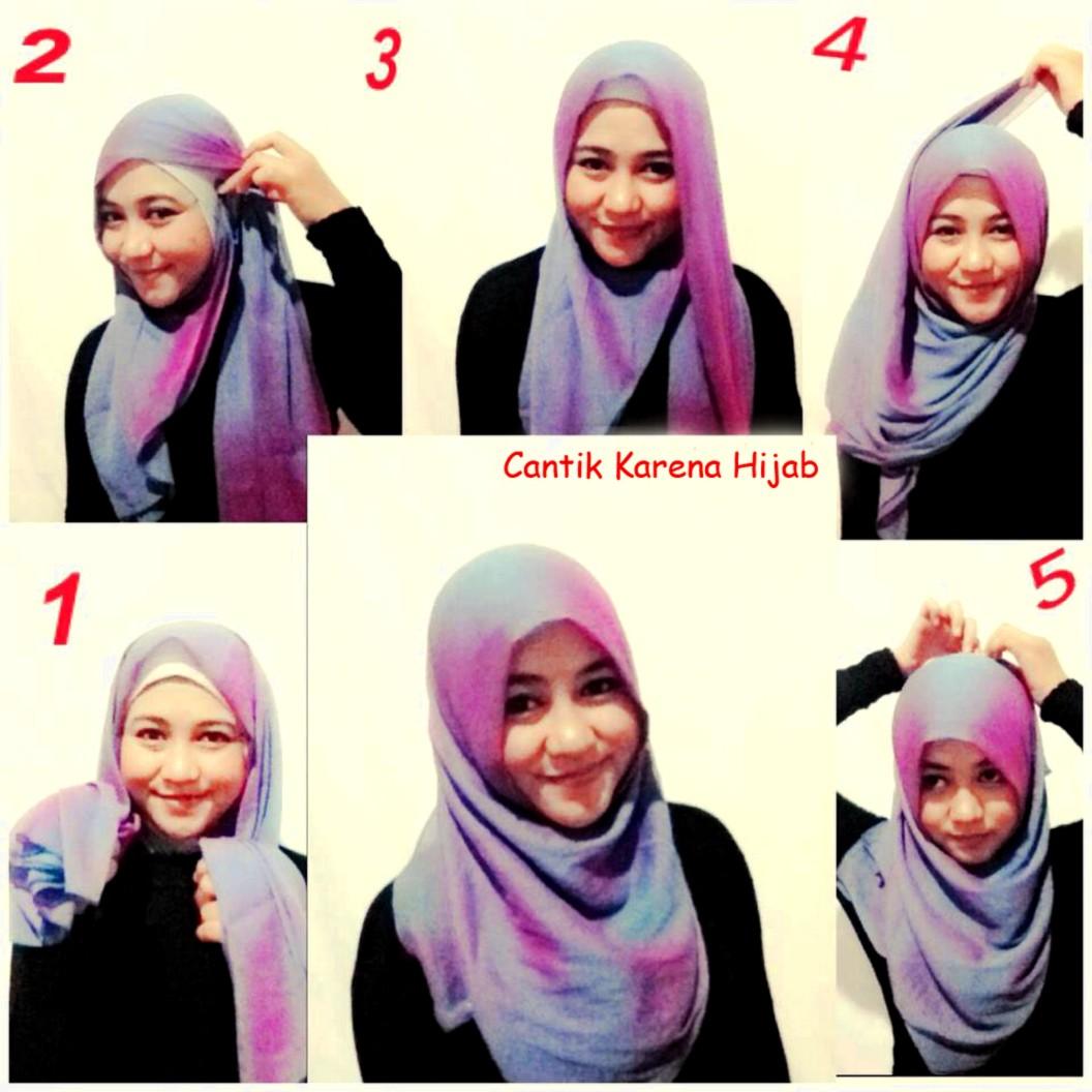 Tutorial Hijab Segi Empat Warna Hitam Tutorial Hijab Paling Dicari