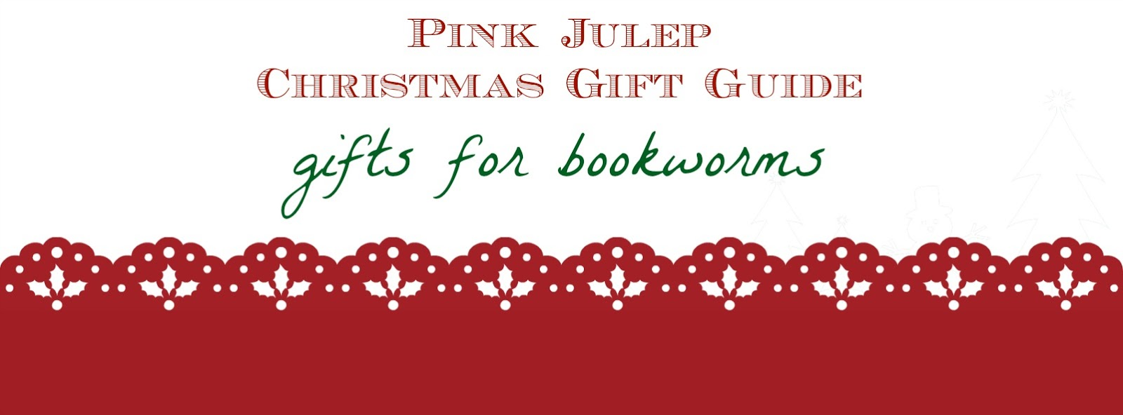 Gifts for Bookworms Graphic