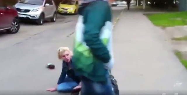 Man Kicks His Ex-Girlfriend In The Head After Discovering That She Slept With Two Other Men!