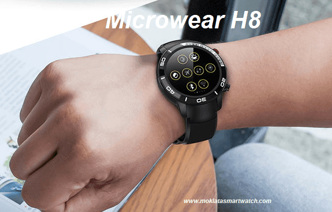 Microwear H8 4G Smartwatch Phone Specs, Price and Features