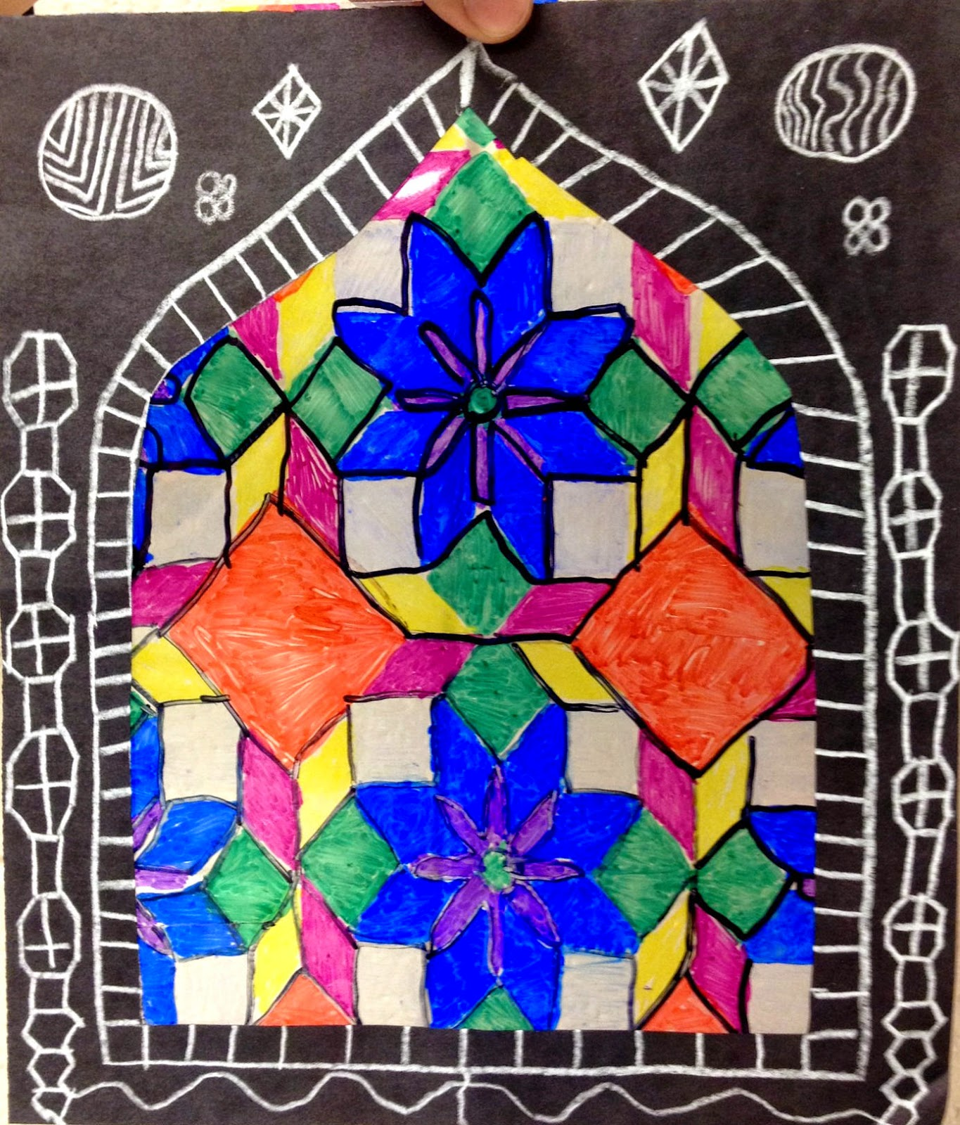 Artful Artsy Amy Lesson Plan Islamic Stained Glass
