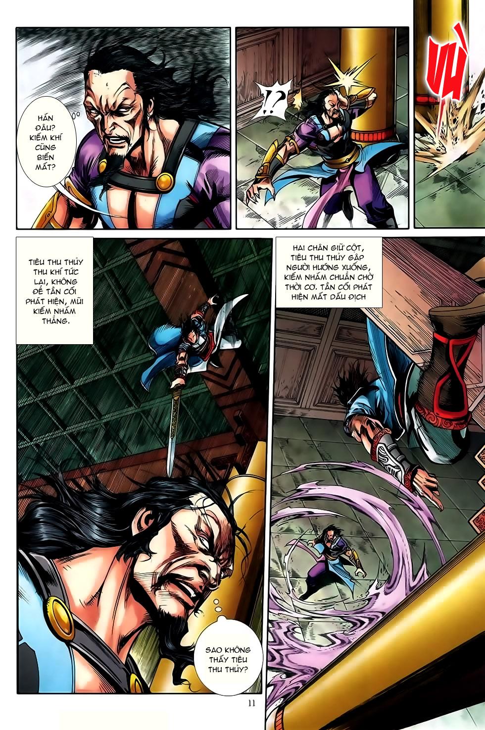 Đại Hiệp Truyền Kỳ (Thần Châu Hậu Truyện) chap 50 - Trang 10