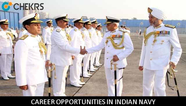 CAREER OPPORTUNITIES IN INDIAN NAVY