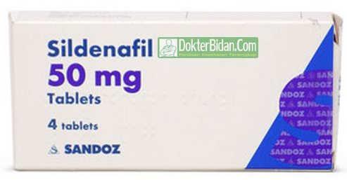 Sildenafil Obat Gangguan Pria Dewasa - Dosis Aturan Pakai dan Efek Sampingnya