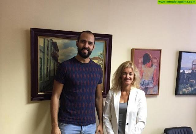 Ricardo Felipe y Virginia Espinosa - El Ayuntamiento de Santa Cruz de La Palma y Radio ECCA ponen en marcha una serie de cursos formativos gratuitos 'online'