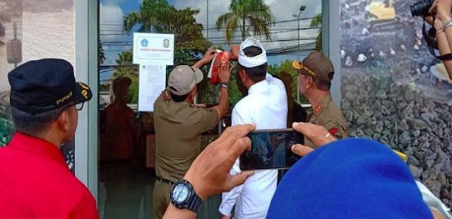 Toko Mafia Tiongkok di Bali Disegel, Pemilik Kabur