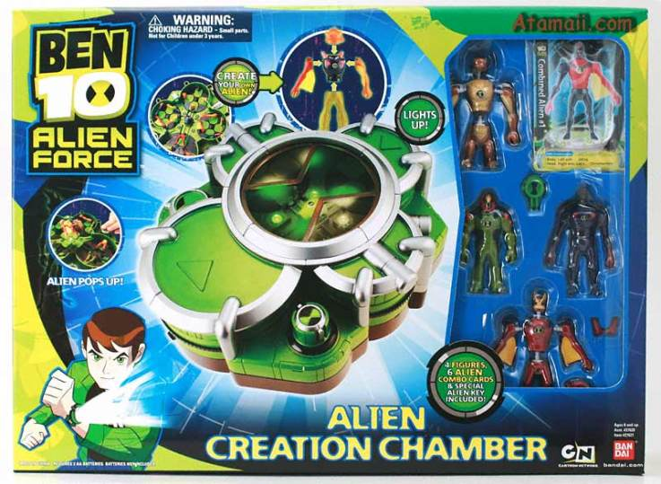 Ben 10 reboot alien creation chamber toy images voltagebd Gallery