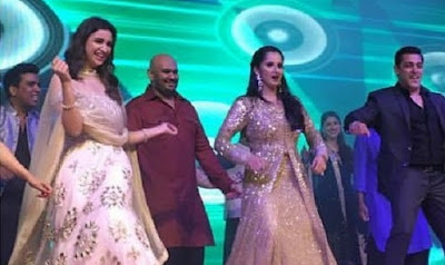Parineeti-Chopra-Salman-Khan-at-Sania-Mirza-sister-Anam-Mirza-wedding