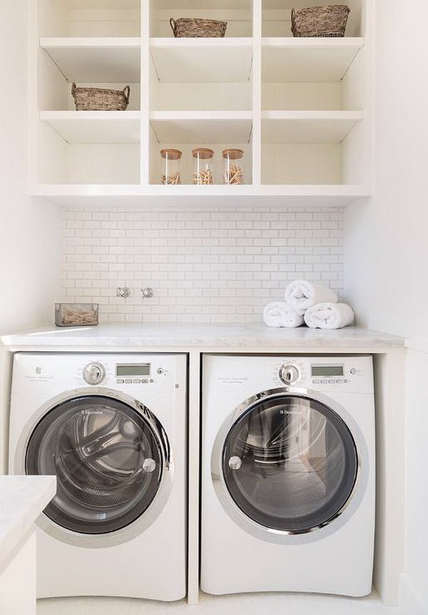 Creative Laundry Rooms Decor Ideas - Room Organization Ideas 3