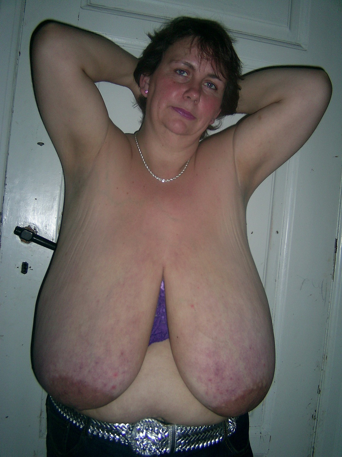 Older women natural tits