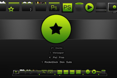 Nome Rocketdock & Elementary Dock Icons - Cleodesktop I