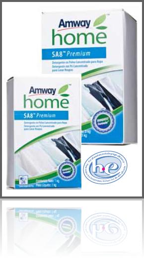 Detergente En Polvo SA8 Concentrado Para Ropa Amway