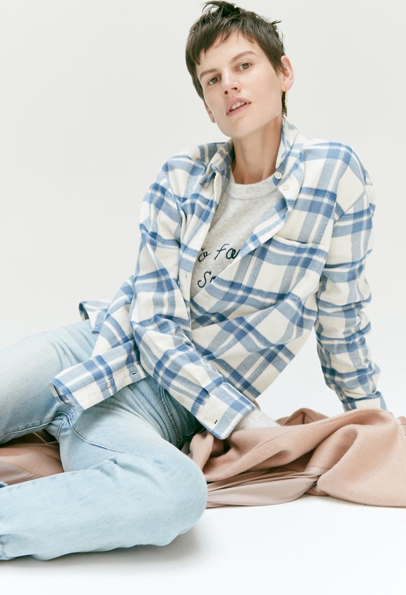 Saskia de Brauw for Madewell Tomboy Looks Fall 2017