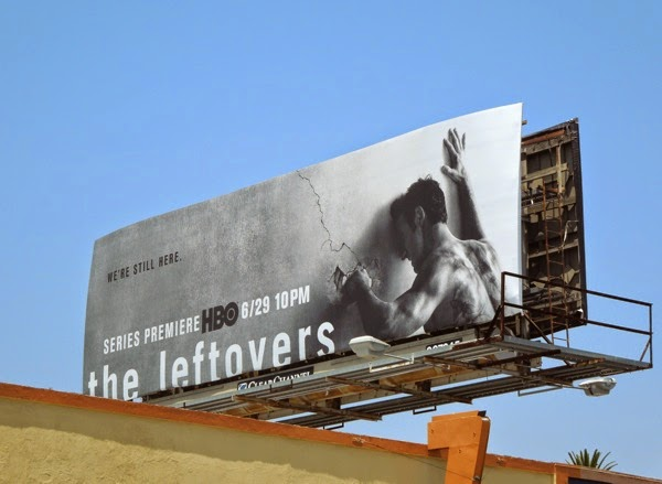 The Leftovers We're still here billboard