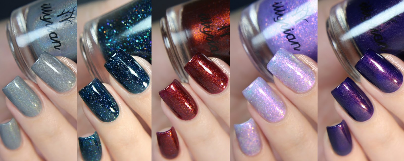 Illyrian Polish | Winter 2016 ~ Glitterfingersss in english