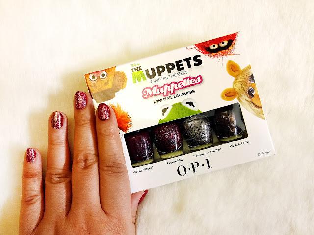 OPI Muppettes Mini Nail Lacquers
