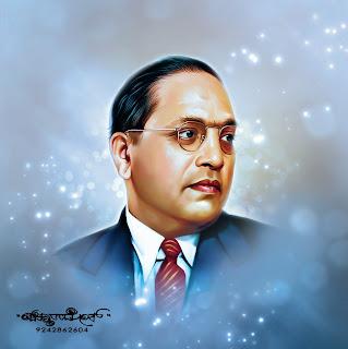 Chitthara Digital Paintings: Dr.B.R.Ambedkar