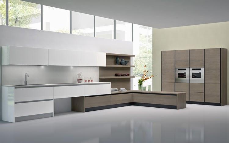 Una cocina que pasa inadvertida cocinas con estilo for Cocinas modernas blancas con peninsula