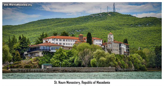 St. Naum Monastery, Ohrid, Macedonia