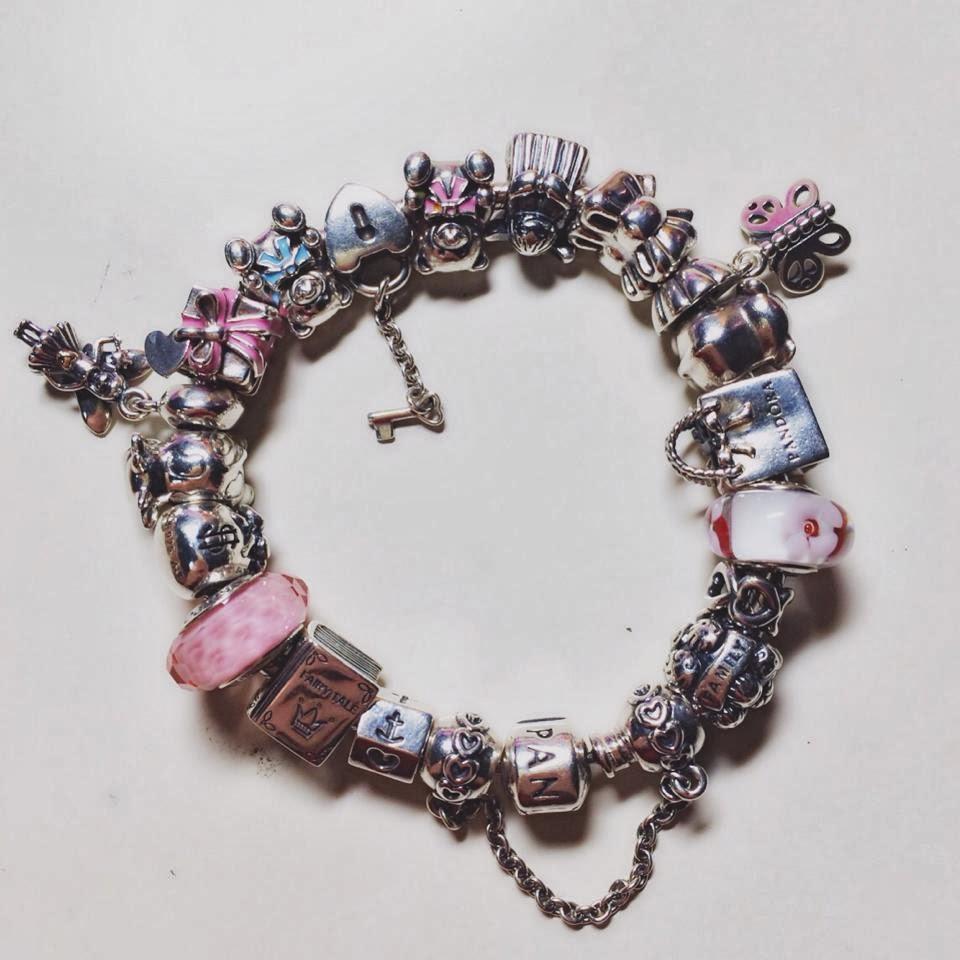 How To Put Charms On A Pandora Bracelet: Pony4food: My Pandora Story