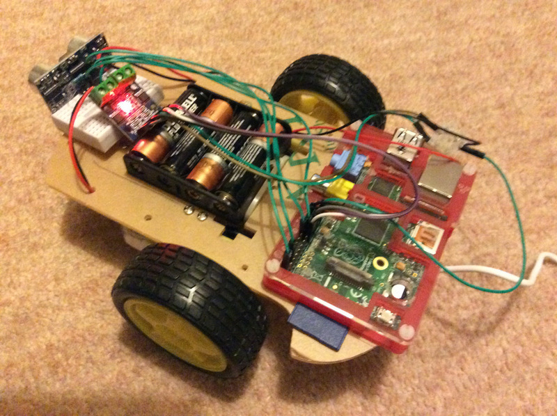 Easily Distracted: BOM for sub-£15 Raspberry Pi robot