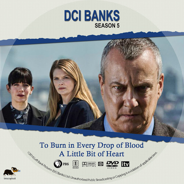 DCI Banks Season 5 Disc 1 DVD Label