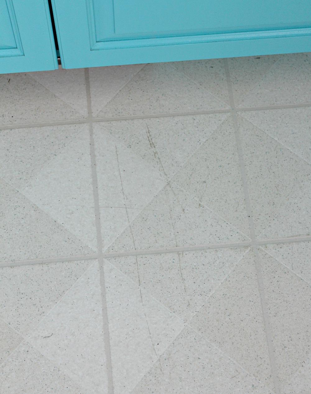 Painting a Vinyl Floor