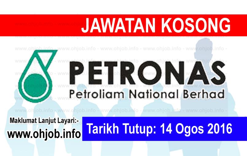 Jawatan Kerja Kosong Petronas ICT Sdn Bhd logo www.ohjob.info ogos 2016