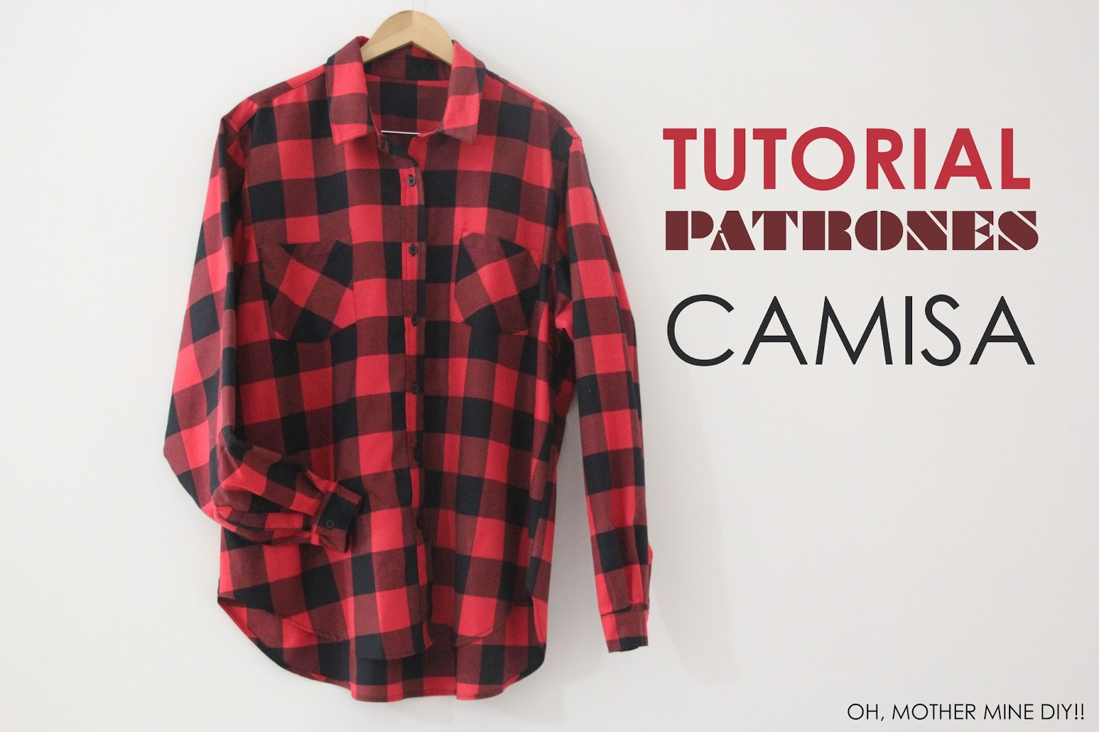 Tutorial y Patrones Camisa Oversize de Mujer - Handbox Craft Lovers ...