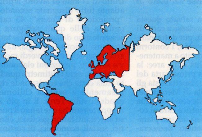 Cartina Mondo Ingrandita.Democrazy Le Carte Geografiche E La Deformazione Della Realta
