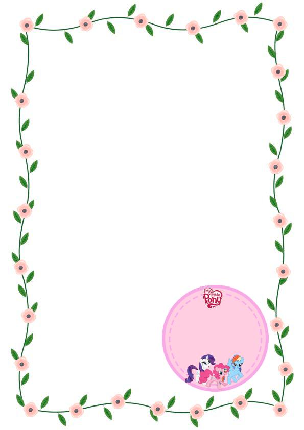 caratulas para cuadernos para niños y niñas de primaria de ponys