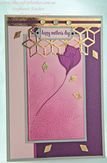 #thecraftythinker #sneakpeek #serenegarden #mothersdaycad #cardmaking #rubberstamping , Serene Garden Bundle, Sneak Peek, Stampin' Up Australia Demonstrator, Stephanie Fischer, Sydney NSW