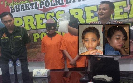 Dua Gadis Sabah Ditahan Bersama 500 Gram Syabu Di Nunukan