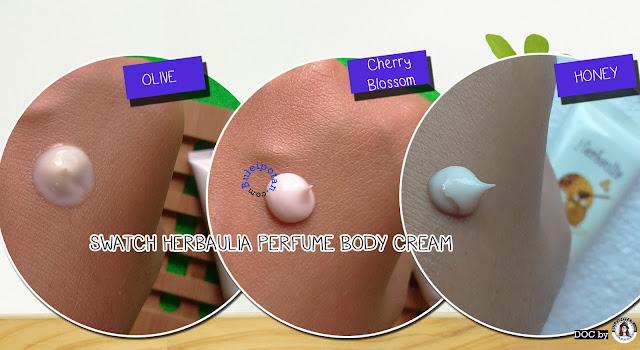 Body Cream oleh HERBAULIA PERFUME BODY CREAM