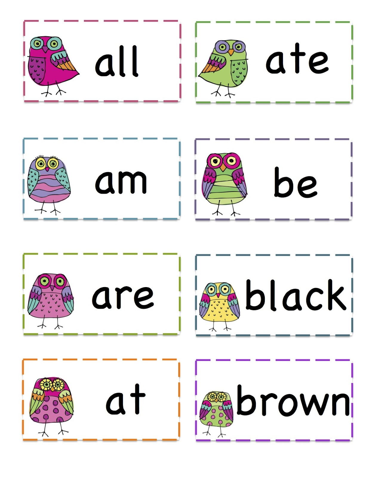 October Preschool Printables