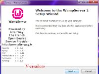 cara instal wamp server