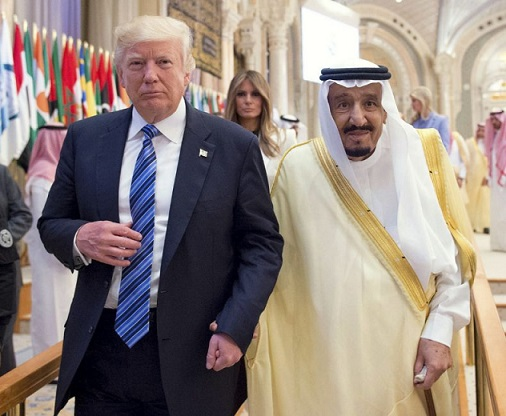 Trump at Arab Islamic American Summit in Saudi Arabia