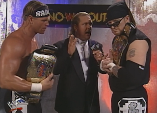 WWE / WWF In Your House 20: No Way Out of Texas - The New Age Outlaws interviewed by Doc Hendrix