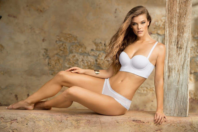 Nina Agdal is sultry for Leonisa Lingerie Lookbook 2016