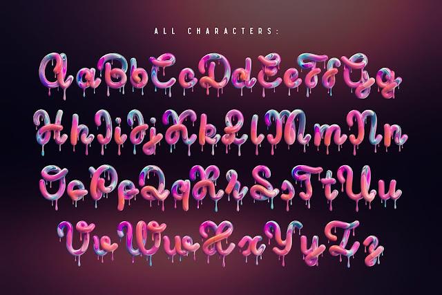 alfabeto-3D-efecto-crema-para-photoshop
