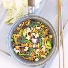 cara membuat mie jamur brokoli