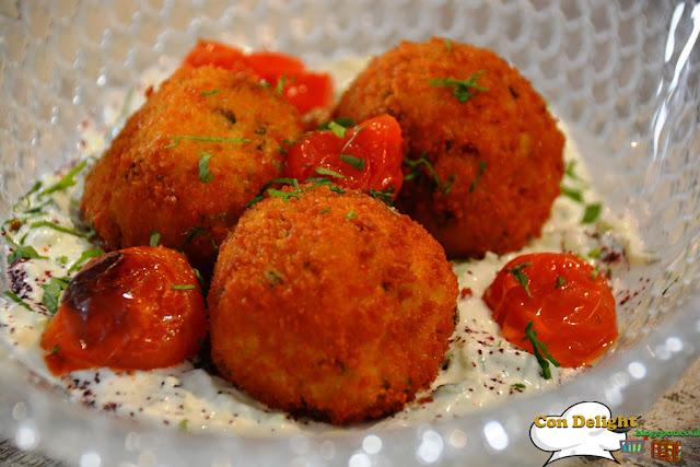 arnachini balls כדורי ריזוטו ארנציני