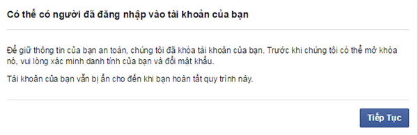 lay lai tai khoan facebook