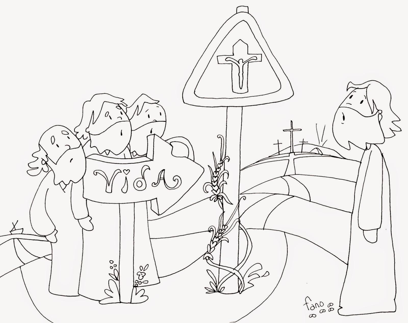 La Catequesis El Blog De Sandra Dibujos De Patxi Fano