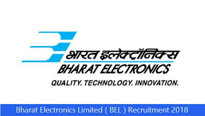 Bharat Electronics Limited ( BEL ) Recruitment 2018